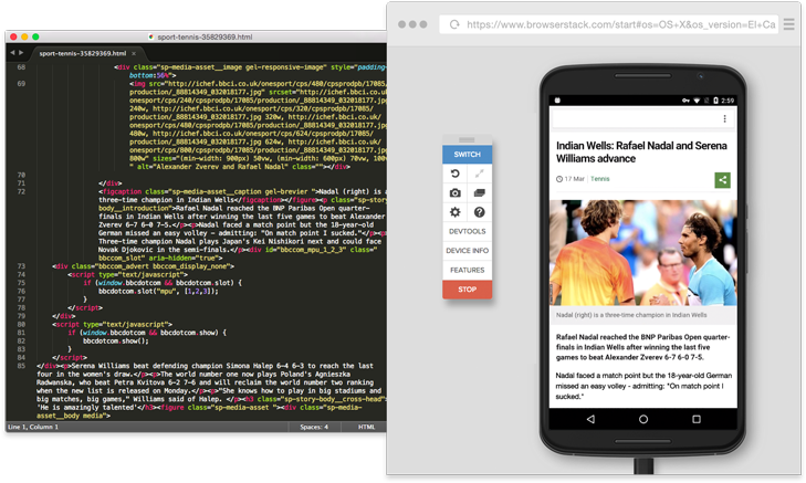Cross browser testing on local machine